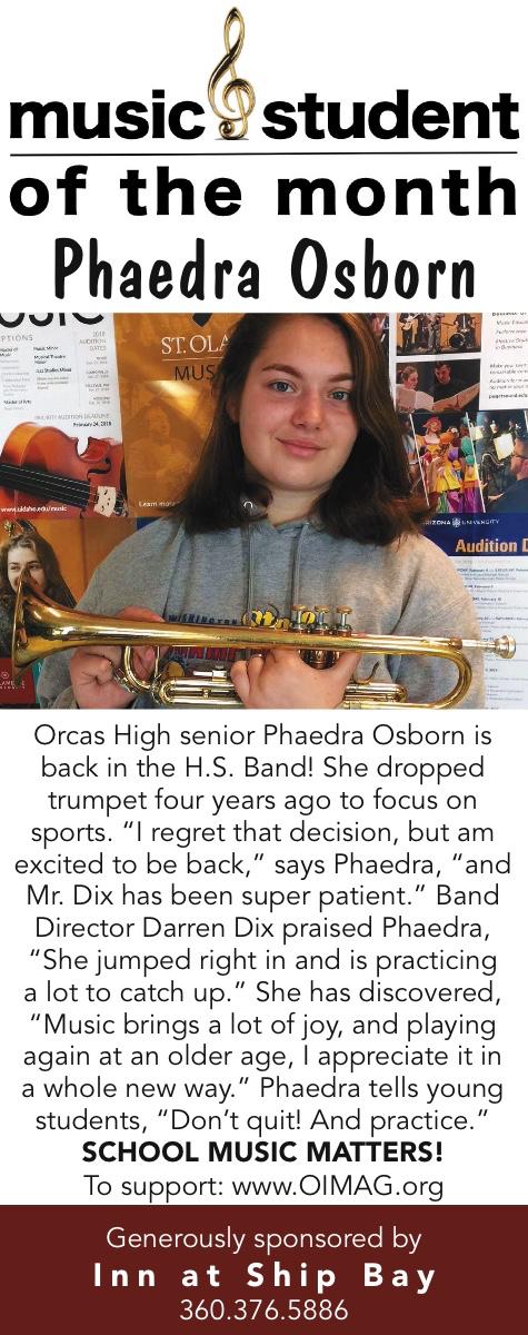 2218106 Music Student of the Month Sep 2018 Phaedra Osborn