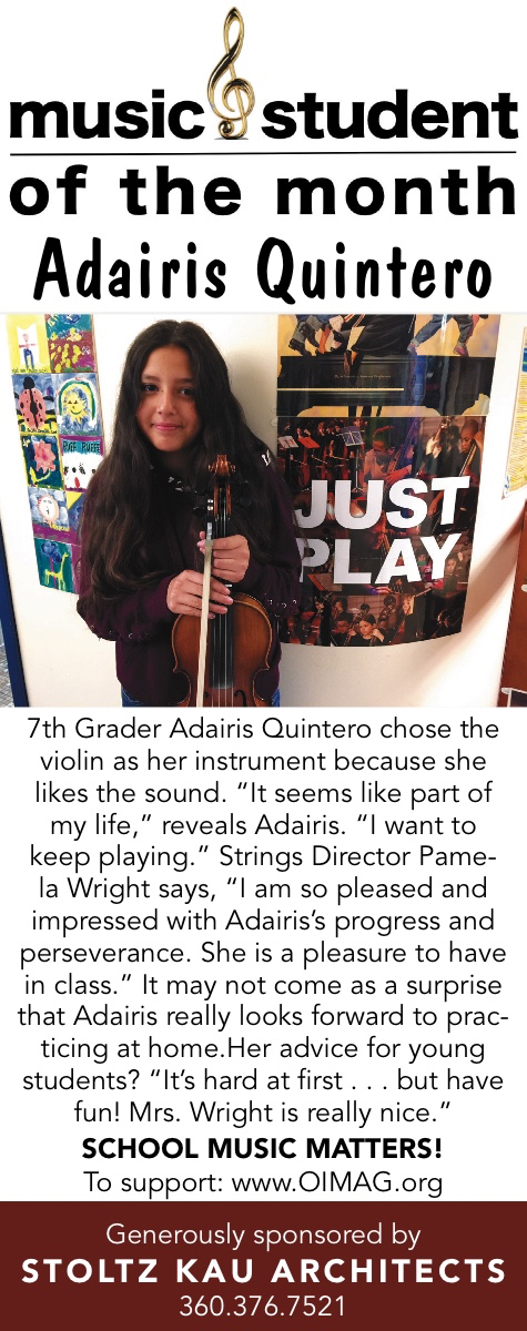 2218111 Music Student of the Month Oct 2018 Adairis Quintero