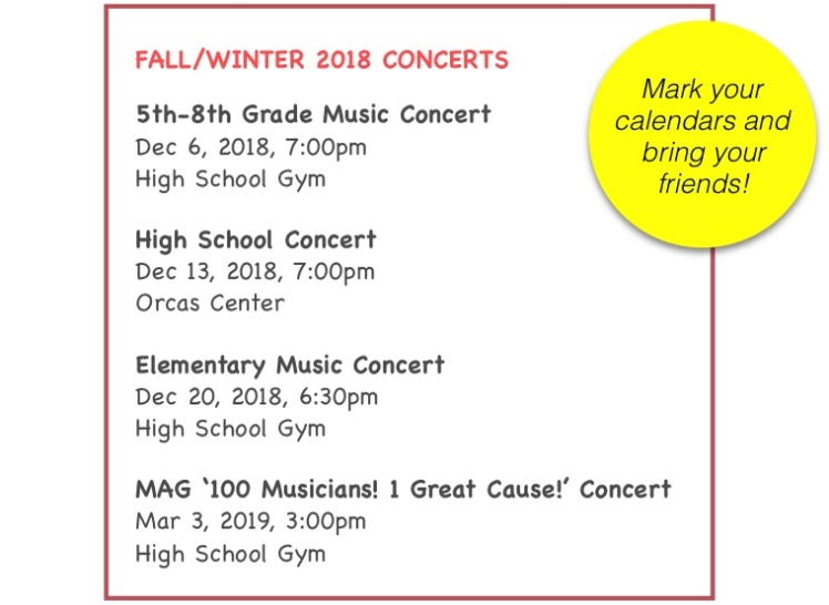 Fall:Winter 2018 Concert schedule image (1)